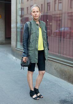 Marika - Hel Looks - Street Style from Helsinki. I love this site!