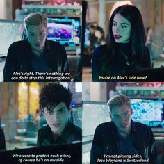 Season 1 Episode 9: Alec, Jace, Izzy