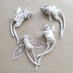 Felt Angel, Baby Friends, Clothespin Dolls, Fabric Toys, Dress Up Dolls, Tiny Dolls, Button Flowers, Toy Craft, Sewing Toys
