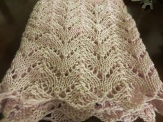 Free Pattern: Lacey Arches Infinity Scarf