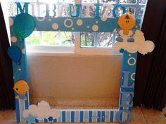 mega marco para fotos baby shower