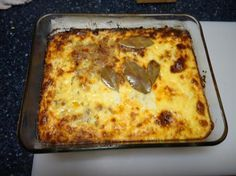 my mom used to make 'bobotie' - a south African dish from Malay tradition and very popular in Afrikaans households South African Dishes, South African Recipes, Ethnic Recipes, Asian Recipes, Dutch Recipes, Great Recipes, Oven Recipes, Easy Recipes, Cooking Recipes