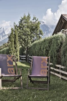 Hotel Schladming ᐁ Boutiquehotel ARX in Rohrmoos Outdoor Chairs, Outdoor Furniture, Outdoor Decor, Sauna, Home Decor, Ski Trips, Recovery, Outdoor, Decoration Home