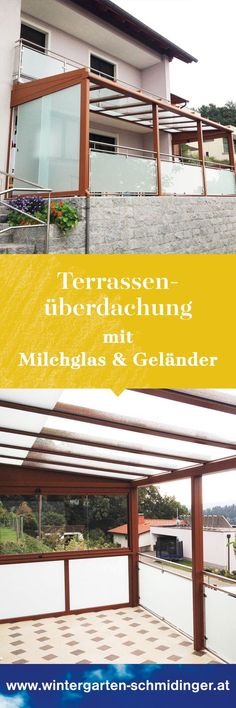 Neue Schiebeverglasungen für ein Poohaus in Oberösterreich house - terrassen gelander design