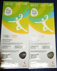 #Ticket  2 Tickets Handball Rio 2016 13.08. Olympia Olympic Games SWE  POL  ARG  TUN #deutschland
