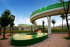 TURENSCAPE landscape architecture Suining Sleeve bridge 08 « Landscape Architecture Works | Landezine