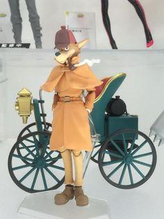 Sherlock Hound figurine