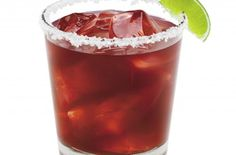 Flirty Fiesta Margarita   This cranberry raspberry margarita is a refreshing change from the classic lime margarita.  This recipe substitutes triple sec with orange liqueur which gives this cocktail a more pronounced citrus flavor.