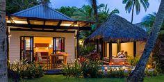 Matamanoa Island Fiji Beach villas exterior