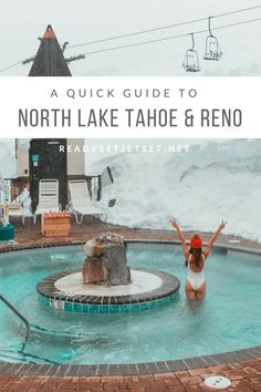 A Quick Guide to North Lake Tahoe & Reno in the Spring Places To Travel, Travel Destinations, Places To Go, Travel Usa, Travel Tips, Travel Hacks, Travel Ideas, Quick Travel, Travel Articles