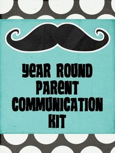 $3.oo Parent Communication Forms for ALL YEAR