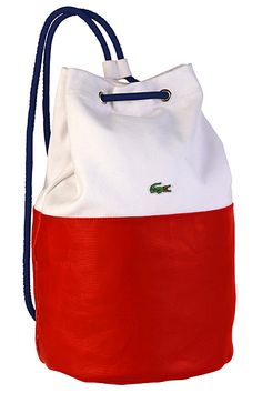 Lacoste beach bag