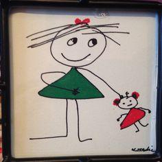 Dibujo infantil Mary Heredia