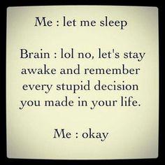 Let me sleep...