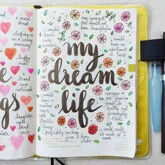 ideas for doodles in my bullet journal! Planner Bullet Journal, Bullet Journal Ideas Pages, Bullet Journal Inspiration, Journal Pages, Bullet Journals, Journal Ideas For Teens, Art Journals, Dream Journal, Wreck This Journal