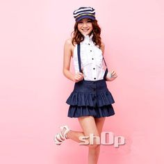 Barato 2015 frete grátis estilo Mini A linha sólida saia Suspender saia Jeans saia e Top Set para mulheres, Compro Qualidade Saias diretamente de fornecedores da China: Free shipping 2015 Summer style  OL Slim vest skirt suit Sexy Carreer Dresses skirt office uniform style women work wear