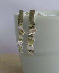 Sterling silver earrings etsy.com/shop/modernsilver
