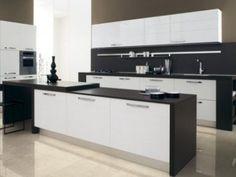 Best and Popular Modern Kitchen Ideas Black and White
