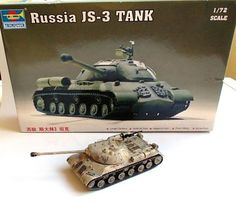 1/72 │ IS-3 Stalin │ Trumpeter │ Erhan Atalay │ Finish