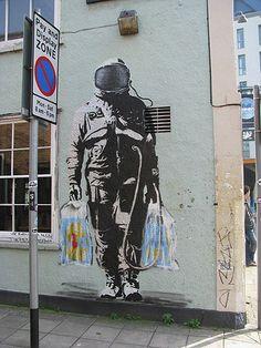 Banksy : Spaceman