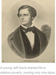 jefferson davis biography facts