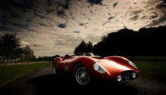 classic fast car.