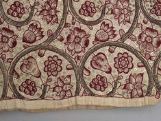 Woman's linen coif English Linen with silk embroidery, with silver filé and plaited braid stitch, and silver spangles Centimetres: 21 (length), 21 (height), 20 (width) circa 1610-1620 979.296.8 ROM2008_9891_15