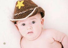 Maria Amélia - Crochê: Pap da estrela para Chapéu Xerife