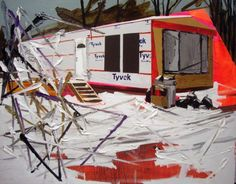 Kim Dorland's Red Deer Alberta Series of Paintings   Beautiful/Decay Artist & Design