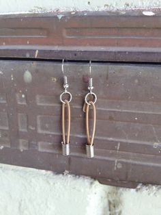 Recycled Guitar Strings  Restored Guitar String Dangle by sparrowc, $26.00