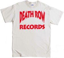 Death Row T-Shirt Dr Dre Snoop Dog Tupac NWA EAZY E Ruthless Nate Dogg Pound