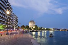Thessaloniki city, Macedonia Greece Royalty Free Stock Photo
