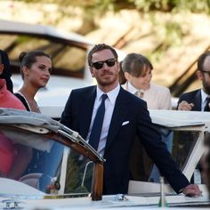 Michael Fassbender Looking Stylish on a Boat Is Your Holiday Weekend | GQ