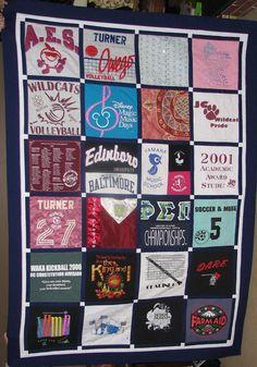 Deposit for a Custom Memory Quilt t shirts by QuiltStudioElmhurst