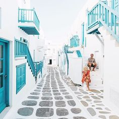 Mykonos, Greece Photo by @doyoutravel