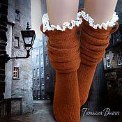 Полнолуние. Носки вязаные, шерстяные носки ручной работы. Купить – купить или заказать в интернет-магазине на Ярмарке Мастеров | В каждом из нас живет свой зверь. Вопрос только в…