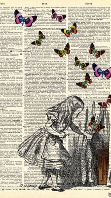 fantasy world black and white girl cool fantasy weird butterflies book sketch illustration Alice in wonderland book sketch Book Page Art, Book Pages, Altered Books, Altered Art, Art Projects, Art Photography, Wonderland, Illustration Art, Artsy