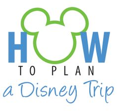 Advice and tips on how to plan a Disney trip with young kids, from start to finish!
