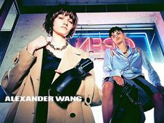 In this picture: Isabella Emmack, Peyton Knight Credits for this picture: Alexander Wang (Designer) , Steven Klein (Photographer) , Pascal Dangin (Creative Director) , Karl Templer (Fashion Editor/Stylist) , Anthony Turner (Hair Stylist) , Jimmy Paul (Hair Stylist) , Polly Osmond (Makeup Artist) , Gina Edwards (Manicurist)