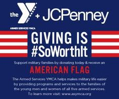 Armed Services YMCA is partnering with JCPenney to support military families this Memorial Day Weekend! - Online Military Discounts and Deals | MilitaryBridge