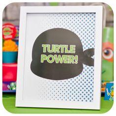 Teenage Mutant Ninja Turtles Signs