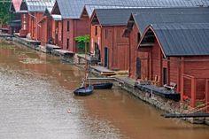 Porvoo, Finland Go See, Arctic Circle, Wonderful Places, Places To Travel, Sweden, Scandinavian, Switzerland Trip, Northern Lights, World