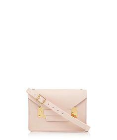 Milner Nano pink leather cross body Sale - SOPHIE HULME Sale