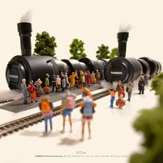Miniature Photography, Toys Photography, Miniature Calendar, Cute Polymer Clay, People Art, Little People, Diorama, Creative Art, Cool Stuff