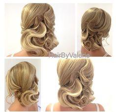 Hair by Valerie of so CA.