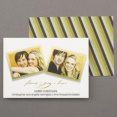 Seasonal Snapshots - Photo Holiday Card