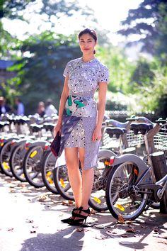 #CarolineIssa looking lovely in Paris. #WayneTippetts