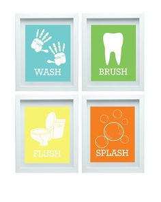 Kids Bathroom Wall Art kids bathroom rules boys bathroom art boys bathroom decor wall art