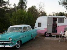 Vintage sprite caravan