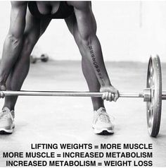It's not just cardio...lifting weights really is the tool to weight loss.